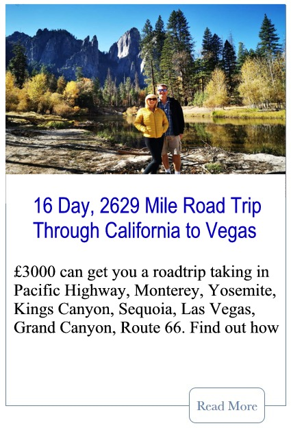 16 Day California Roadtrip