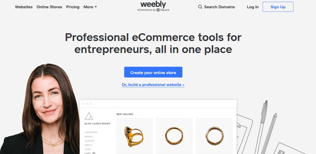Weebly Free Website