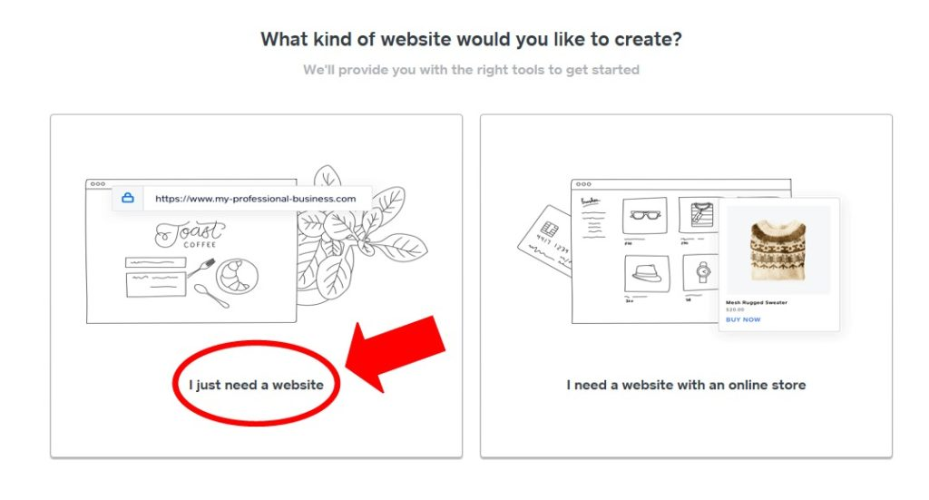 Select A Free Website