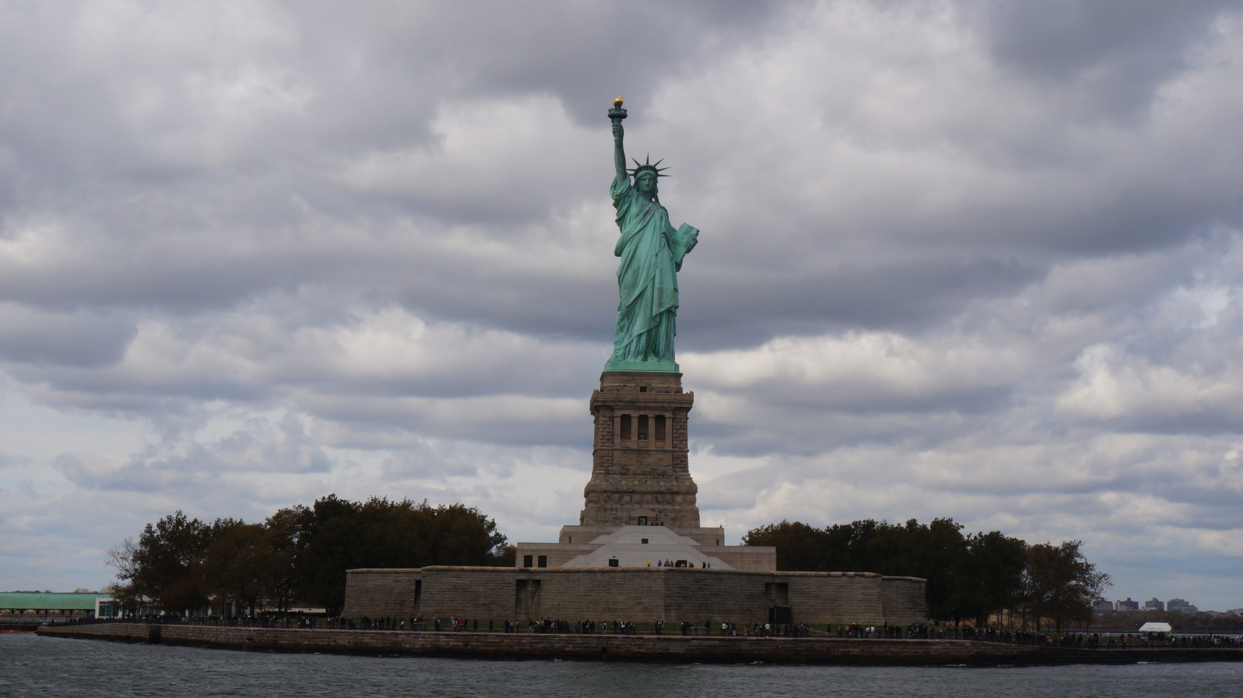 Statue of Liberty From The Hudson River Cruise