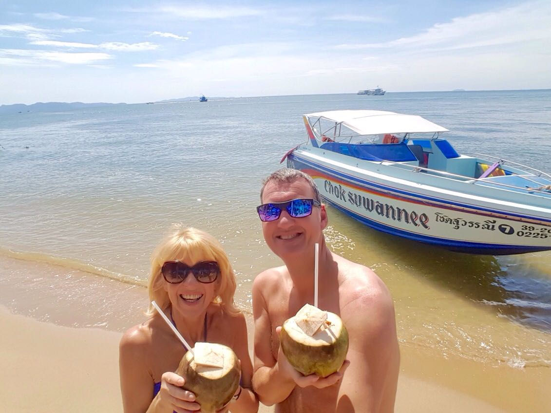 Fresh Coconuts in Thailand
