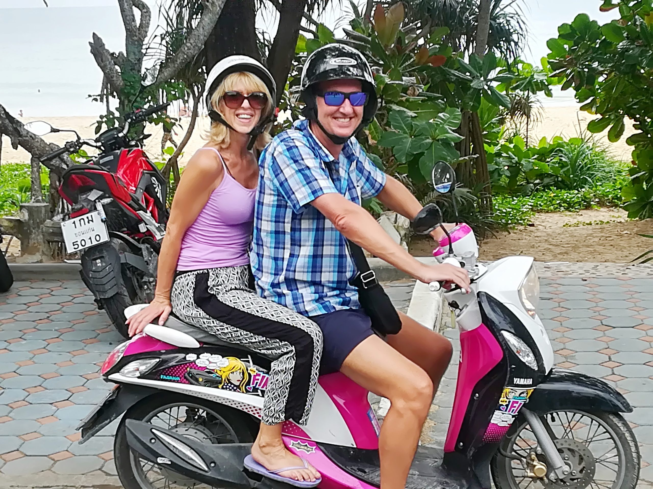 Moped Hire in Bangtao