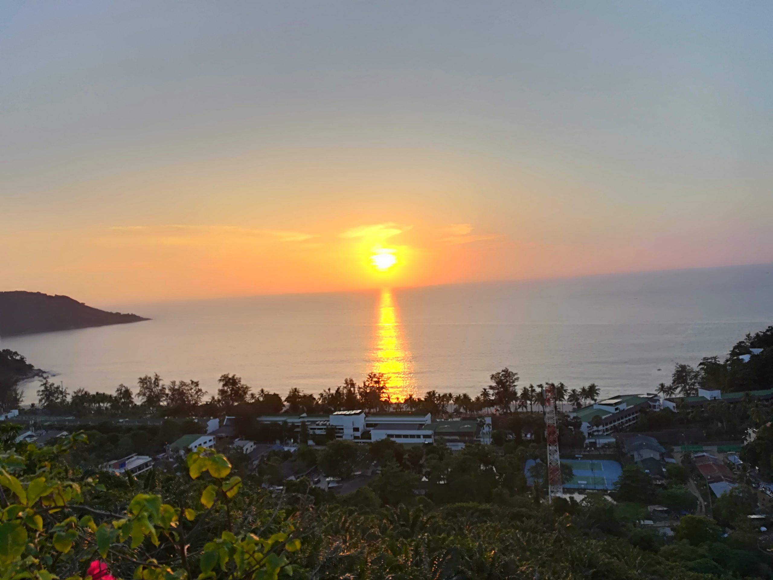 Sunset Views From Kata Noi View Point