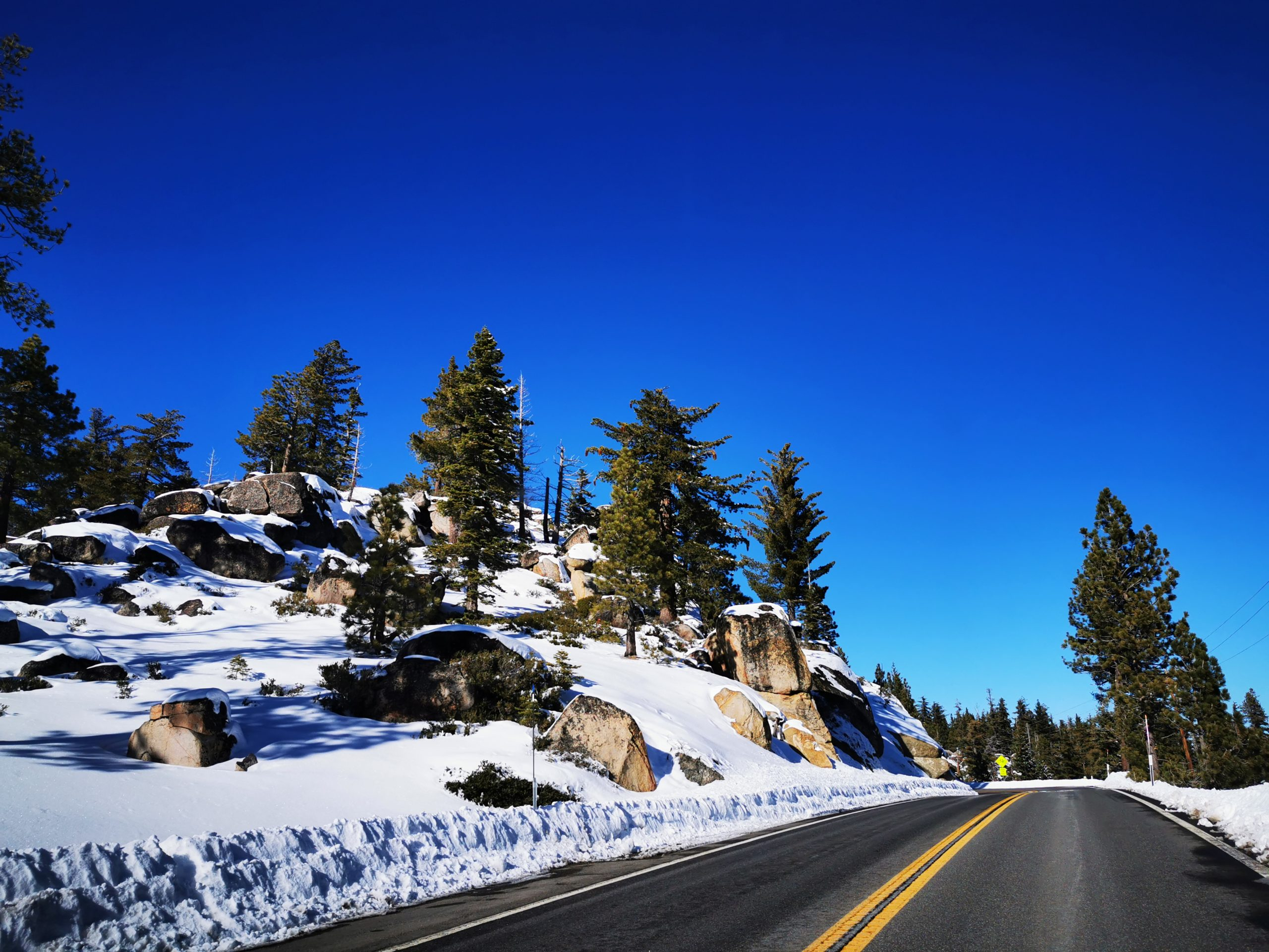Route 89 Towards Tahoe City
