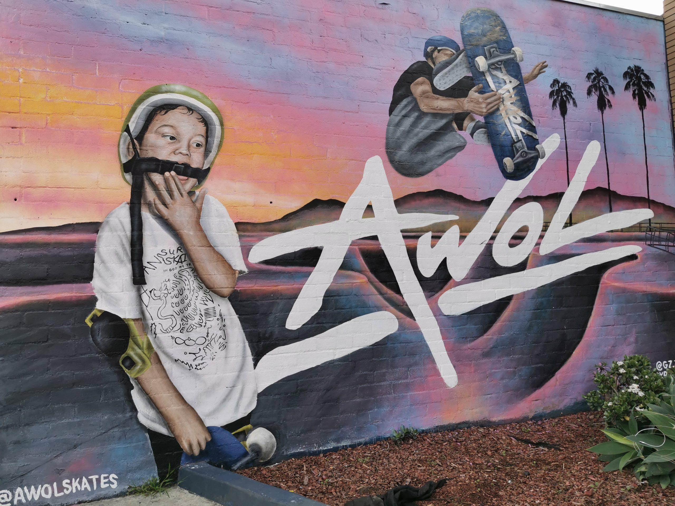 Graffiti Art Venice Beach