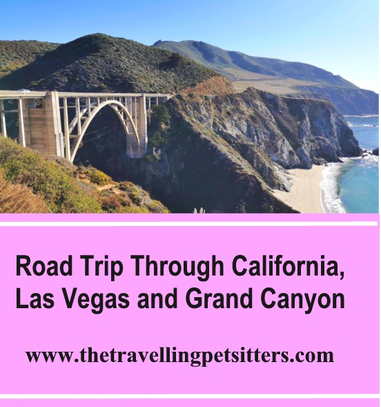 Road Trip Through California, Las Vegas and Grand Canyon
