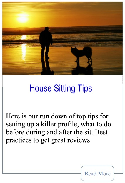 House Sitting Tips