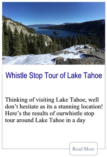 Whistle Stop Tour of Lake Tahoe