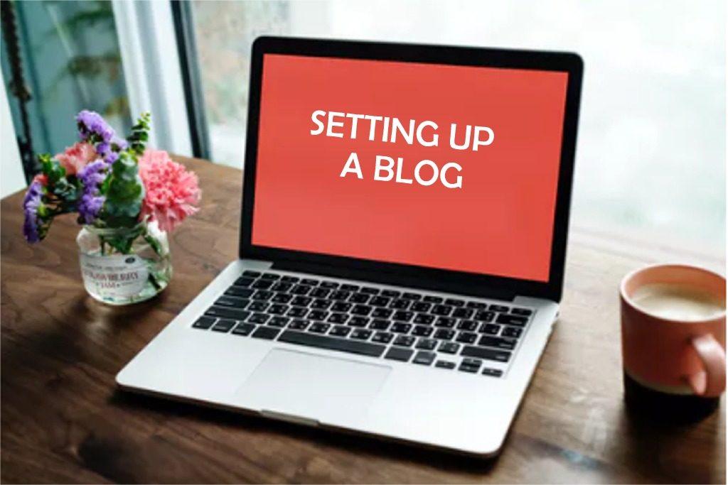 Setting Up A Blog