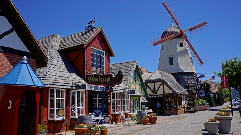 Solvang Village, California