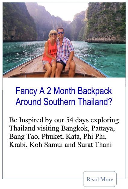 2 Months Travelling Thailand