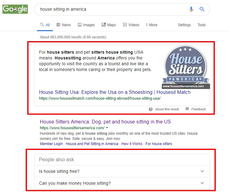 Search Engine Results Page Research